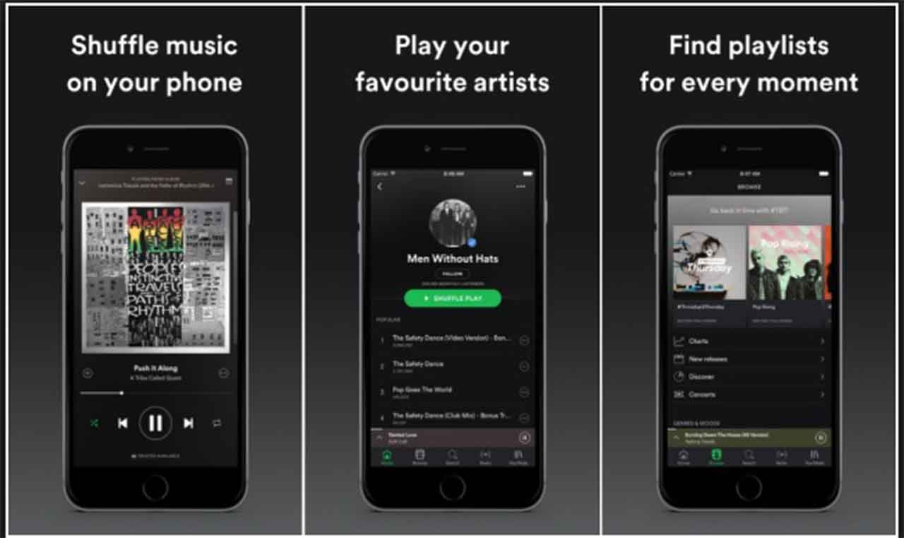 Spotify App offline on iPhone and iPad - Its use in Mac