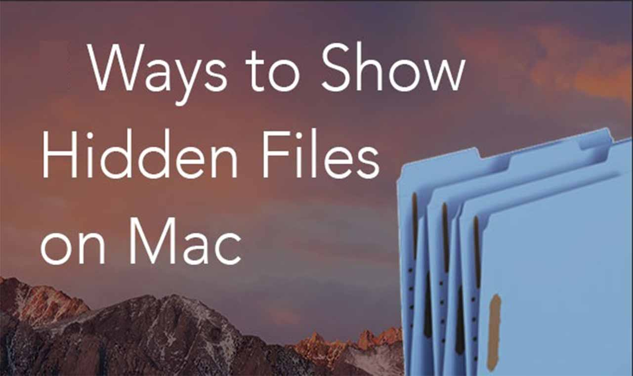 View The Hidden files and folders of Mac with Terminal commands